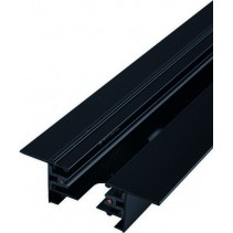 9015 PROFILE RECESSED TRACK BLACK 2 METERS Nowodvorski
