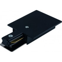 8973 PROFILE RECESSED POWER END CAP BLACK Nowodvorski