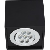 BOX LED BLACK 7W